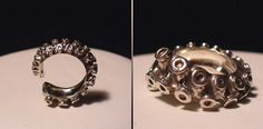 octopus ring. I want this so bad..