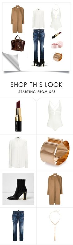 """My perfect first date"" by the-way-she-wears-it-finspo ❤ liked on Polyvore featuring Bobbi Brown Cosmetics, La Perla, Joseph, Dsquared2, River Island, Astraet, New York & Company and Guerlain"