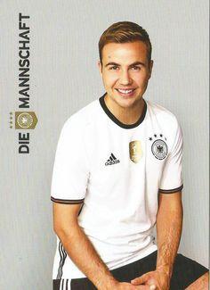 Mario Götze. Die Mannschaft EuroCup 2016 Germany Football Team, Football Soccer, Soccer Jerseys, Germany Squad, German National Team, Fifa 2014 World Cup, Dfb Team, European Soccer, Sports Celebrities