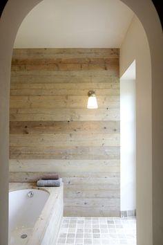 White, gray, bare wood