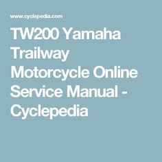 743a7a2cfc29bdc61d12c1c7fe295cde yamaha atv yamaha tw yamaha tw200 maintenance valve clearance yamaha tw200 tw200 wiring diagram at panicattacktreatment.co
