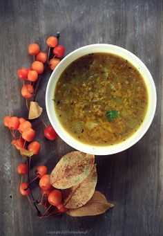 Red Lentil Soup with Cinnamon