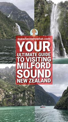 Milford Sound is one of the most iconic sights of New Zealand and a must-see. It was once touted as the 8th wonder of the world. With more than one million tourists a year, there are lots of options to get the most out of visiting Milford Sound. Here is my guide to finding the best option for you. Milford Sound | Milford Sound New Zealand | Milford Sound Photography | Milford Sound New Zealand Photography | New Zealand South Island Milford Sound New Zealand Destinations, New Zealand Itinerary, New Zealand Travel Guide, Travel Guides, Travel Tips, North Island New Zealand, Worldwide Travel, Travel Information, Australia Travel