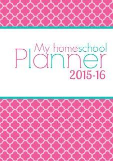 Home School planner 2015-16