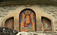 Monastery of the Life-giving Source, near Metsovo, Greece. Μονή Ζωοδόχου Πηγής, Ανθοχώρι Μετσόβου. Photo: Nikos Moropoulos 2017