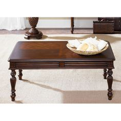 Royal Landing Tobacco Rectangular Cocktail Table