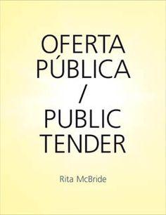 MAIG-2013. Rita McBride. Oferta pública / Public Tender. 75 McBride.