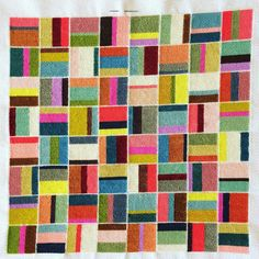 Modern Embroidery, Embroidery Art, Embroidery Stitches, Hama Art, Make Blanket, Crazy Patchwork, Needlepoint Designs, Strip Quilts, Cross Stitch Borders
