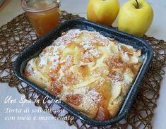 Italian Desserts, Apple Desserts, Apple Recipes, Italian Recipes, Sweet Recipes, Breakfast Cake, Breakfast Recipes, Dessert Recipes, Cooking Cake