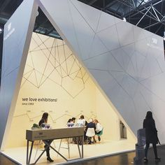 #Euroshop 2017 day 1 highlights. So much incredible #eyecandy, but this exhibit by #melinskyminuth really stood out #exhibitiondesign
