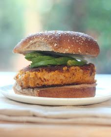 Confections from the Cody Kitchen: Vegan Sweet Potato Burger