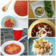 healthy slow cooker crockpot meals