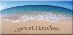 What are you grateful for in your life? Don't take it for granted, be grateful!