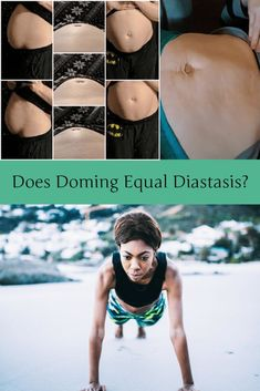 """Does Doming Equal Diastasis? - Fit2B.com - Fit2B knows core exercises have busy moms asking, """"Should I be worried that my belly is bulging?"""" and """"Does doming equal diastasis recti?"""" Click through and let us connect you to a free video and let us connect you with the answers and home exercises that you can trust will keep your core safe. #fit2b #diastasisrecti #workouts #exercises #fitness #homeexercises Core Workouts, Core Exercises, Fun Workouts, At Home Workouts, Ab Excersises, Tabata Cardio, Running Guide, Pelvic Floor Exercises, Total Gym"""