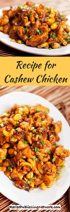 As far as cashew chicken dishes go this is a rather simple one. It features only the essential ingredients to carry the dish off and it can be added to if you like without making the dish suffer any.