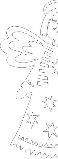 How to make a paperless angel - Weihnachten