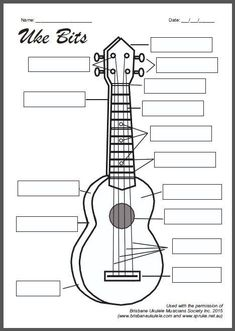Lots of great ukulele resources for the classroom! Music Lesson Plans, Music Lessons, Guitar Lessons, Guitar Tips, Cool Ukulele, Ukelele, Banjo, Ukulele Songs, Music Guitar