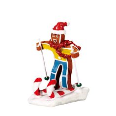Lemax 72484 Candy Cane Skier is part of the Sugar 'n Spice themed village collection is currently a part of the Candy Cane Lane collection on Gift Spice.