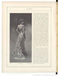 Les Modes : revue mensuelle illustrée des Arts décoratifs appliqués à la femme | 1901-06 | Gallica
