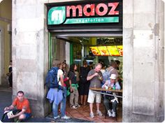I want a Maoz falafel everyday. (Barcelona)
