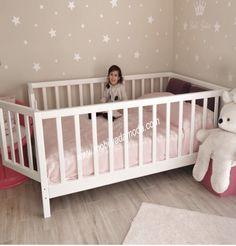 20 Ideas for baby bedroom diy decor Baby Bedroom, Baby Boy Rooms, Little Girl Rooms, Baby Cribs, Nursery Room, Girls Bedroom, Diy Toddler Bed, Toddler Rooms, Kid Beds