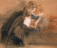 Author: Adolph von Menzel. Drawings, Pencil,charcoal,pastel,red chalk,watercolour and white with scratching on tinted cardboard, 25.4x29.1 cm. Origin: Germany, Between 1844 and 1850. Source of entry: formerly in the collection of Friedrich Siemens, Berlin. Transferred from Germany after World War II