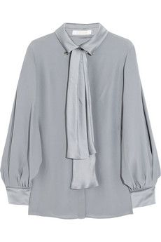 Pussy bow blouses...just say no.