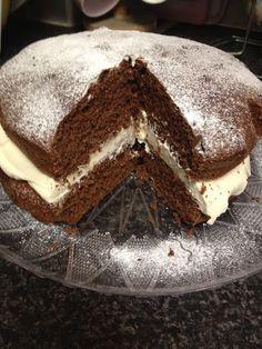 nosaibasfood :): Chocolate & vanilla cake