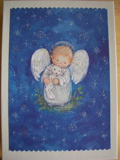 Hallmark Christmas Card by Mary Hamilton...