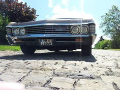 The Chevy Impala bears a striking new design highlighting its increased power and luxury features. Impala For Sale, New Chevy, Sports Sedan, Car Makes, Chevrolet Impala, Salt Lake City, Vintage Cars, Muscle, Classic