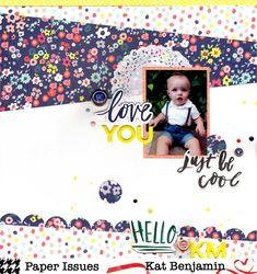 love you (paper issues) || happyGRL - Scrapbook.com American Craft