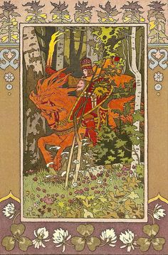 Сказочные картины Ивана Билибина