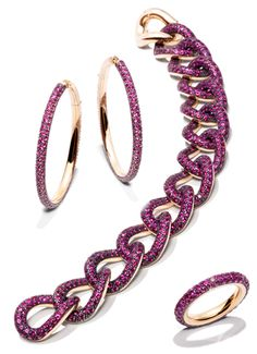 """Had to show these """"pink"""" jewels.  It prefer them in brown/black diamonds."""