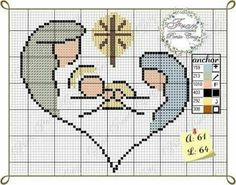 Did you know you can cross-stitch on a Crochet Afghan Tunisian piece as a cross-stitch background? Cross Stitch Numbers, Cross Stitch Letters, Mini Cross Stitch, Cross Stitch Cards, Cross Stitching, Cross Stitch Embroidery, Embroidery Patterns, Stitch Patterns, Loom Patterns