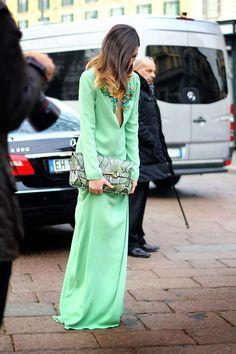 Mint Gucci Dress