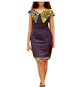 African Autumn women long sailor collar midi super batik cotton plus size dress African traditional dresses – DRESS THE LADIES African Dresses For Kids, Latest African Fashion Dresses, African Dresses For Women, African Print Dresses, African Print Fashion, African Attire, African Dress Designs, African Women, South African Traditional Dresses