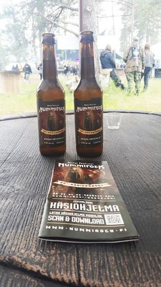 Ugolinon Seikkailut: KÄSITYÖOLUET VALTAAVAT MYÖS NUMMIROCKIN 2016! Beer Bottle, Drinks, Drinking, Beverages, Drink, Beverage, Cocktails