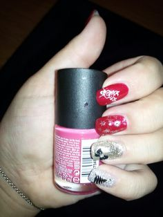 My new Christmas nails