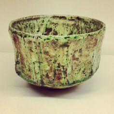 田中将則さんの緑釉抹茶碗田中将則さんのうつわ展26日まで #織部 #織部下北沢店 #陶器 #器 #ceramics #pottery #clay #craft #handmade #oribe #tableware #porcelain