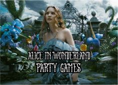 Creative Alice in Wonderland Party Ideas and Games for Tweens and Teen