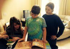 Little Jimmy gets kids reading.