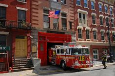 Squad 18 is one of 7 Squads in the FDNY Special Operations Command (SOC) Located in 132 West 10 th Street, New York City © Arve Johnsen Fire Dept, Fire Department, Fire Prevention, Nyc, Fire Apparatus, Search And Rescue, West Village, Emergency Vehicles, Fire Engine