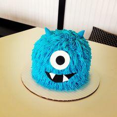 Monster Smash Cake - ButterSweet Cakes