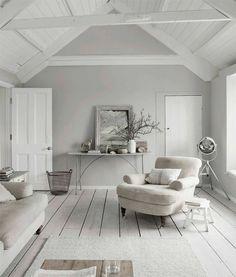 My Little Home Blog // Un cottage anglais tout en grège