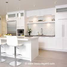 Bilderesultat for armoires de cuisine blanches