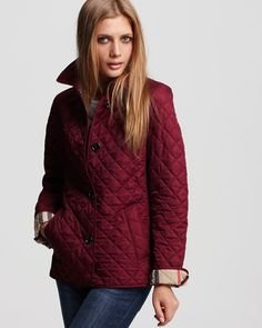 Burberry Brit Copford Fitted Quilted Single Breasted Coat | Bloomingdale's - $495