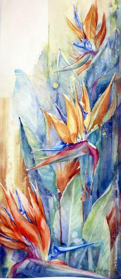 67 Meilleures Images Du Tableau La Reunion Watercolor Painting