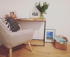 My Little Corner #vanitycorner #loftdesk #consoletable #makeuptable #vanitydesk #ladycorner #oakconsoletable #bedroommakeupcorner My Little Corner, Office Desk, Life, Furniture, Home Decor, Desk Office, Decoration Home, Desk, Room Decor