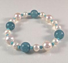 Freshwater pearl Bracelet by JiaojiaosPearls on Etsy