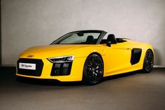 Audi Launched R8 Spyder in the UK  The luxury car manufacturer, Audi has been introduced the Spyder version of R8, named as Audi R8 Spyder, in the UK market at the on-road price tag of £ 129,000 (around Rs. 1.14 crore). The Spyder version is the highly desirable convertible model of the existed R8.